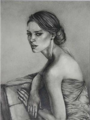 Untitled-2, Graphite/Paper, 9x12